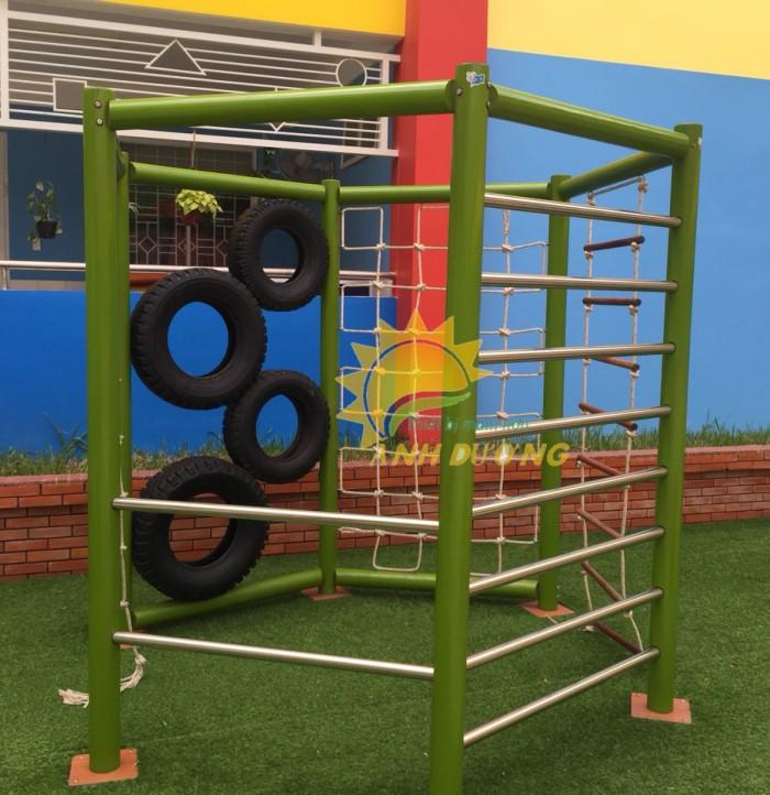 Chuyên cung cấp thang leo vận động thể chất dành cho trẻ em mầm non10