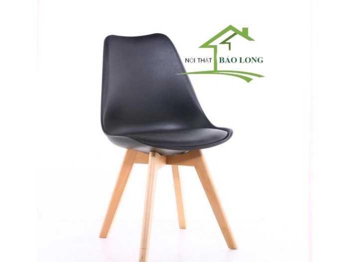Ghế nhựa chân gỗ nhập khẩu giá rẻ2