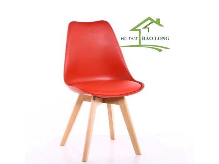 Ghế nhựa chân gỗ nhập khẩu giá rẻ3