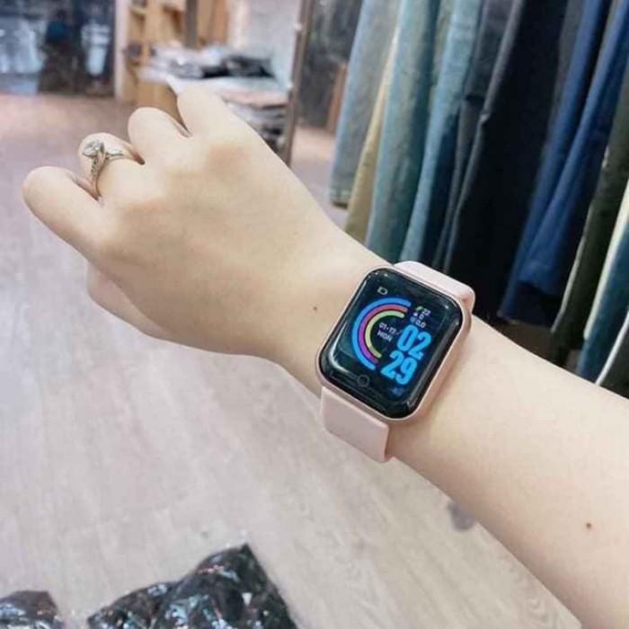 Smart Watch Y68, Đồng Hồ Thông Minh Y68 Theo Dõi Sức Khỏe - MSN181522