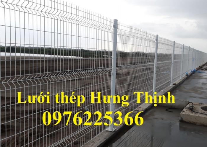 Hàng rào lưới thép mạ kẽm nhúng nóng