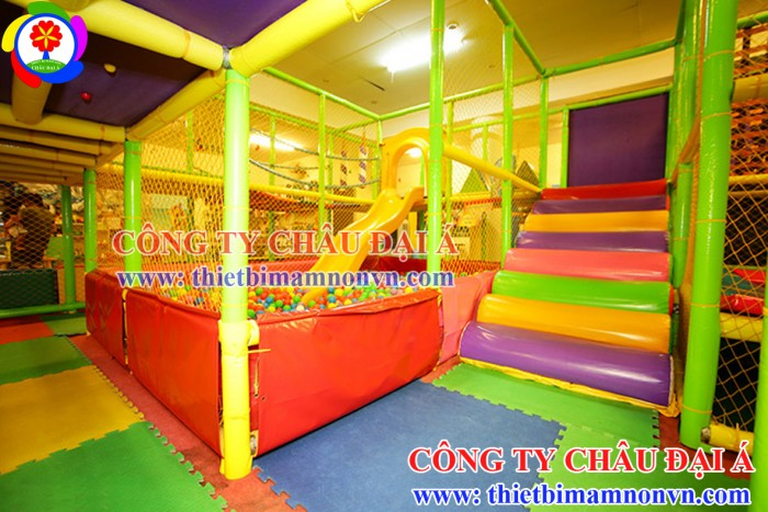 Khu vui chơi liên hoàn trẻ em giá rẻ1