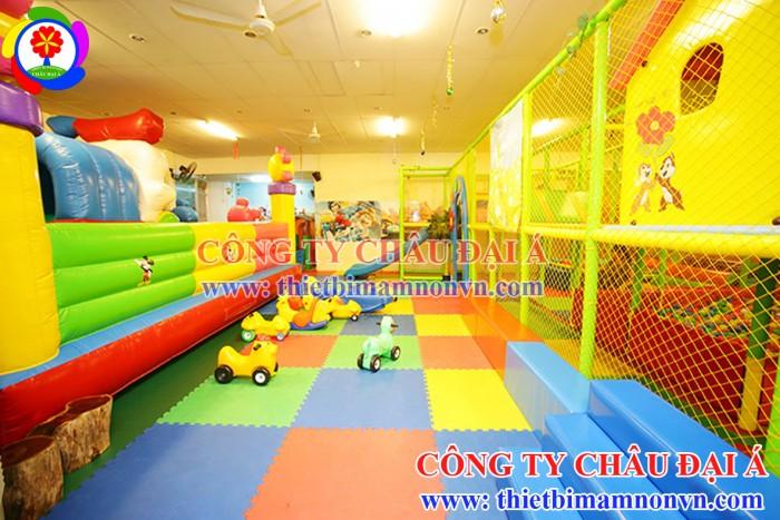 Khu vui chơi liên hoàn trẻ em giá rẻ5