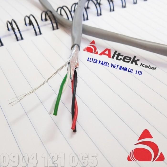 Cáp tín hiệu xoắn đôi 1 đôi / 2 đôi / 3 đôi / 4 đôi Altek Kabel2