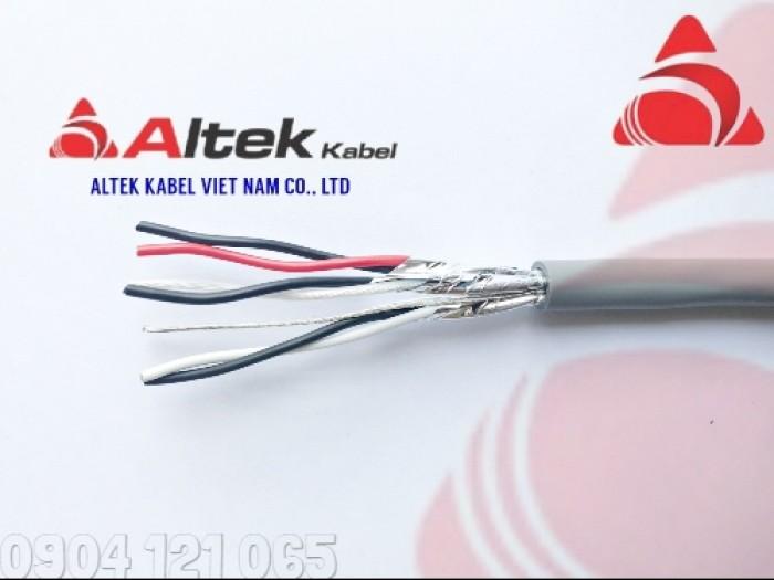 Cáp tín hiệu xoắn đôi 1 đôi / 2 đôi / 3 đôi / 4 đôi Altek Kabel0