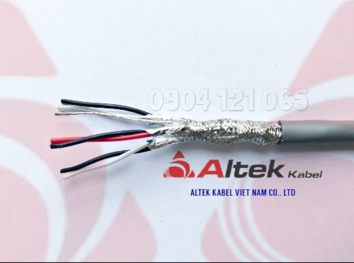 Cáp tín hiệu xoắn đôi 1 đôi / 2 đôi / 3 đôi / 4 đôi Altek Kabel3