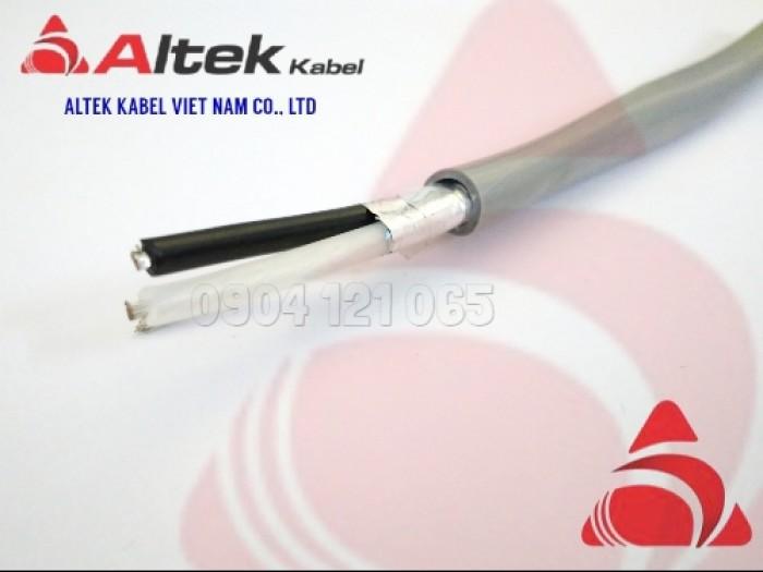 Cáp tín hiệu xoắn đôi 1 đôi / 2 đôi / 3 đôi / 4 đôi Altek Kabel6
