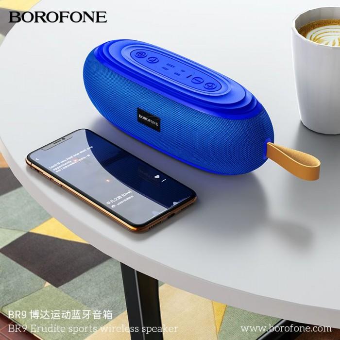 Loa Bluetooth Borofone BR9  Nghe Nhạc,gọi điện,FM,hỗ trợ thẻ nhớ,2