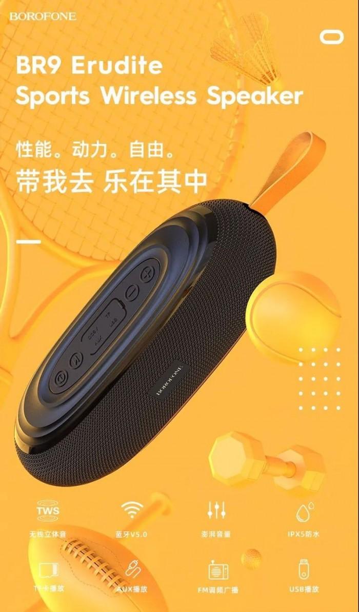 Loa Bluetooth Borofone BR9  Nghe Nhạc,gọi điện,FM,hỗ trợ thẻ nhớ,4