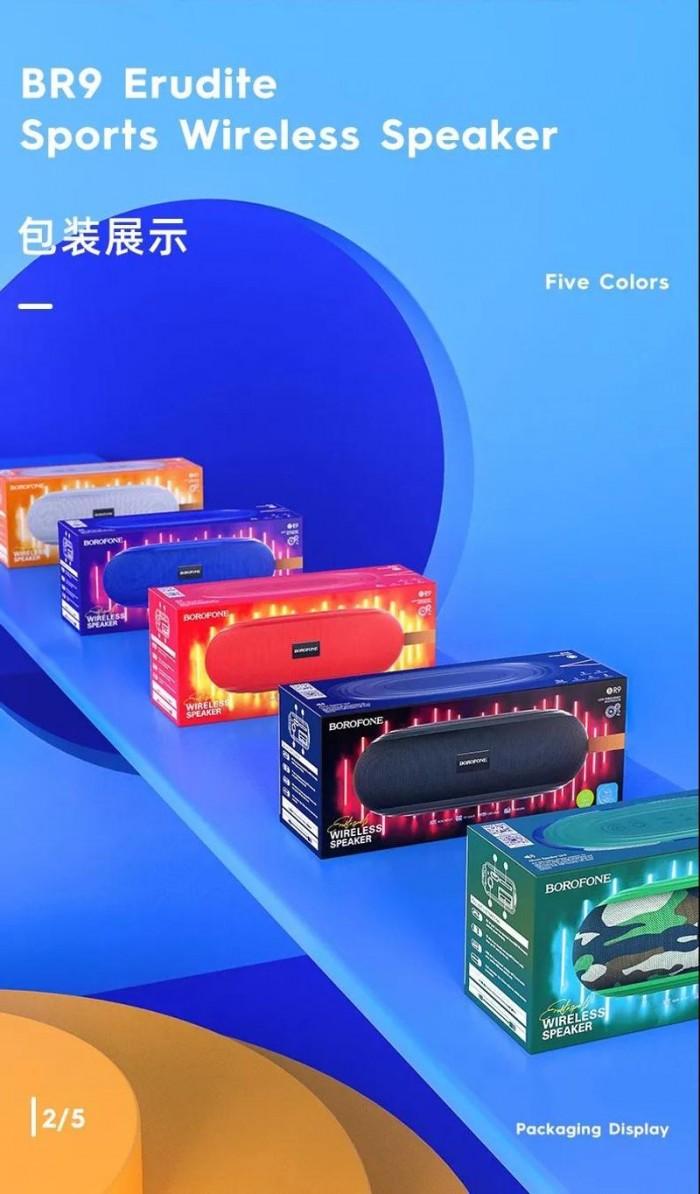 Loa Bluetooth Borofone BR9  Nghe Nhạc,gọi điện,FM,hỗ trợ thẻ nhớ,5