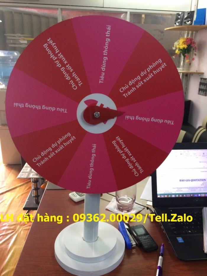 Có sẵn sản phẩm vòng quay may mắn trúng thưởng dùng trong các sự kiện8