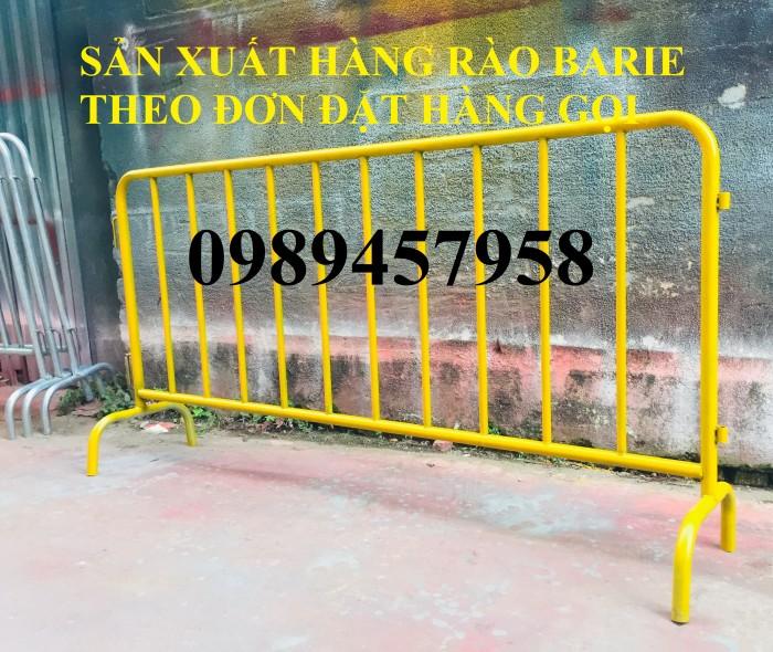 Cung cấp hàng rào di động có bánh xe, hàng rào barie có chốt khóa5