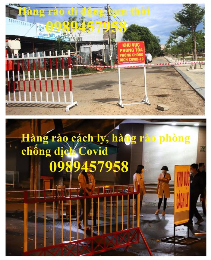 Hàng rào lan can giao thông, hàng rào cách ly bệnh viện, hàng rào siêu thị3