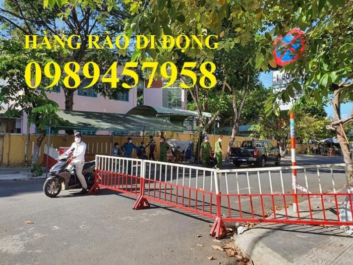 Hàng rào lan can giao thông, hàng rào cách ly bệnh viện, hàng rào siêu thị4