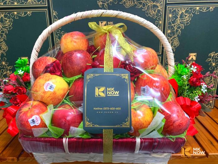 Đặt mua quà mừng khai trương phát tài phát lộc - Giỏ táo Envy - FSNK166 - Giao tận nơi - Gọi: 0373 600 600 (24/24)2