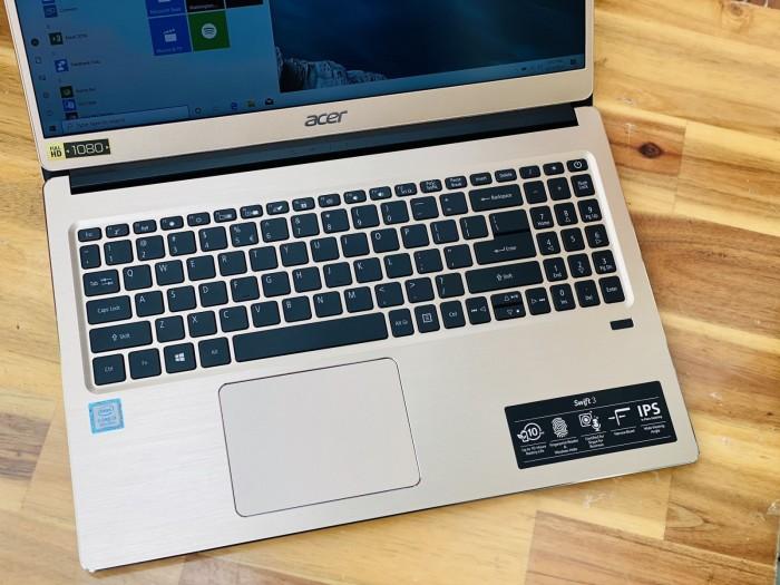 Laptop Acer Swift 3 SF315-52/ i3 8130U/ 4G/ SSD240-1000G/ Full HD IPS/ Finger3