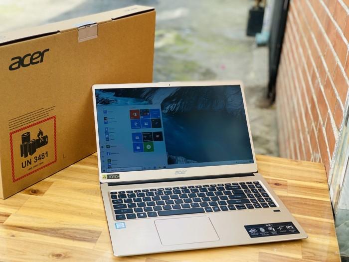Laptop Acer Swift 3 SF315-52/ i3 8130U/ 4G/ SSD240-1000G/ Full HD IPS/ Finger6