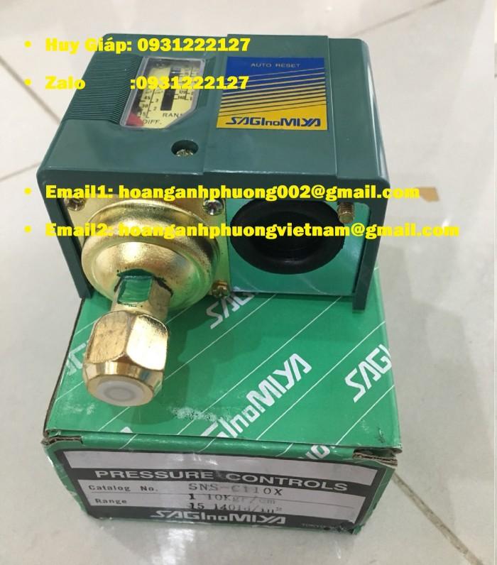 Sns-C101X Saginomiya Công Tắc Áp Suất0