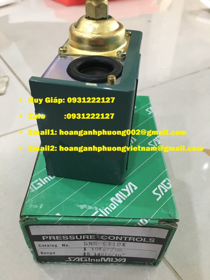 Sns-C101X Saginomiya Công Tắc Áp Suất2
