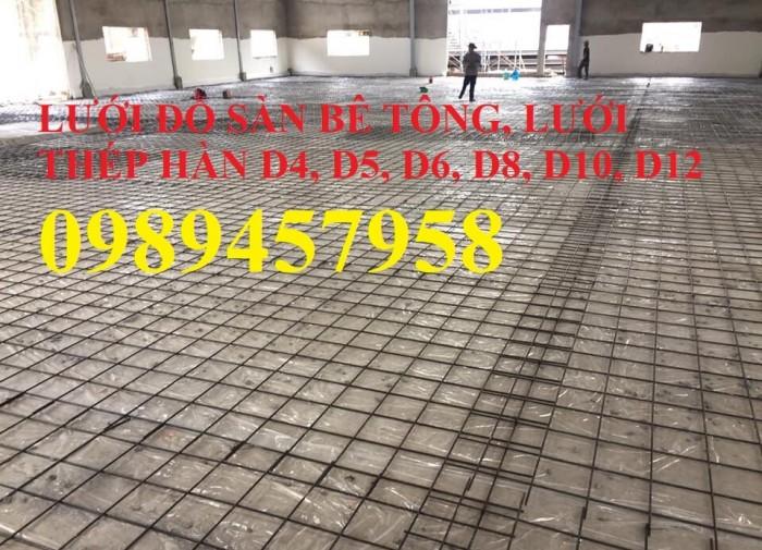 Lưới hàn chập A6, A7, A8, A10 ô 100x100, 150x150, 200x2006