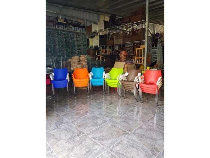 Bàn ghế cafe nhựa đúc giá tại xưởng- Nội Thất Nguyễn Hoàng2