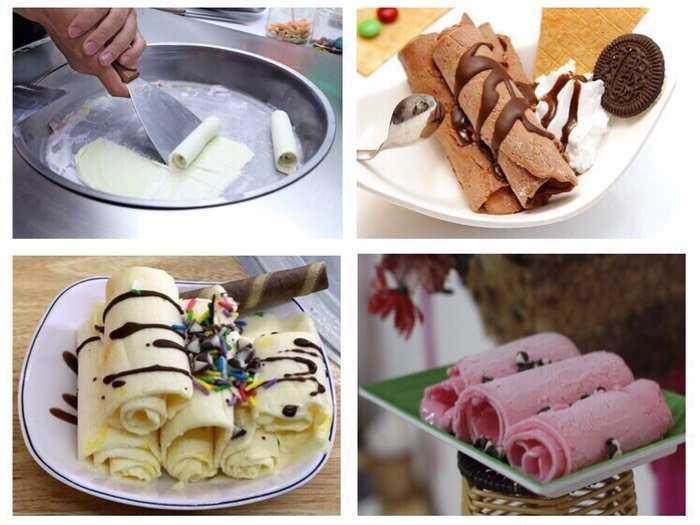 Máy làm kem lạnh mini siêu tiện4