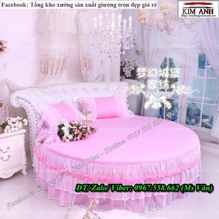 giường tròn công chúa2
