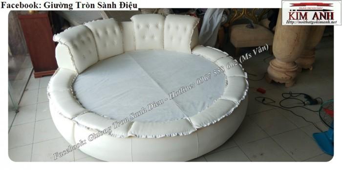 giường ngủ hình tròn q95