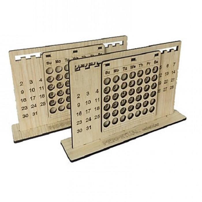 Combo Lịch vạn niên - Lịch gỗ trang trí0