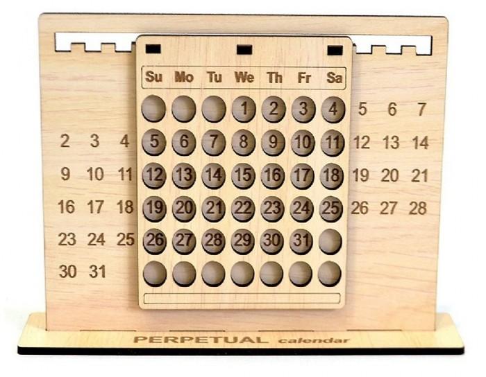 Combo Lịch vạn niên - Lịch gỗ trang trí2
