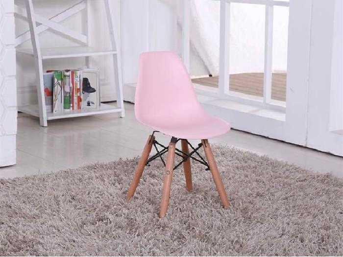 Ghế nhựa nhập chân gỗ giá rẻ