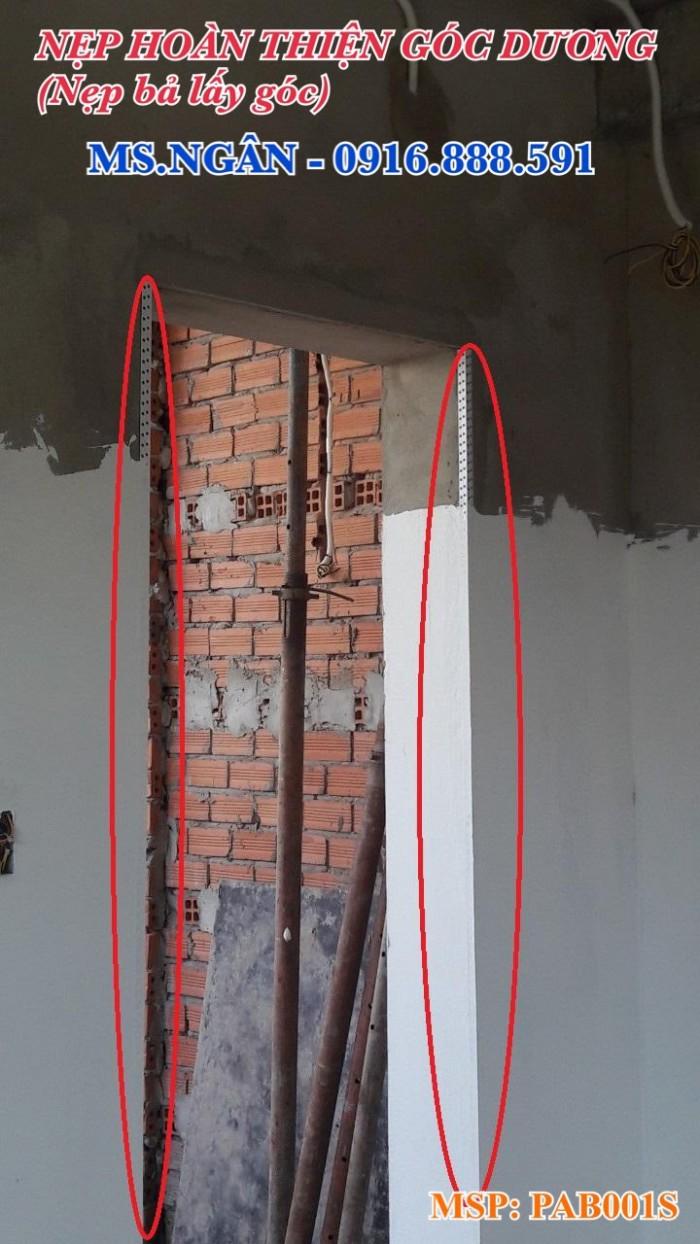 Nẹp V góc bả Matit - Nẹp Z trần - Nẹp khe âm tường/trần4