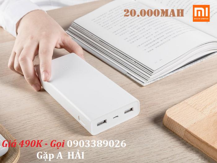Pin dự phòng Xiaomi 20.000mAh Sử dụng lõi pin đến từ LG / Panasonic ( Lithium Polymer ), nhà cung cấp hàng đầu quốc tế về năng lượng