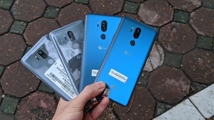 Điện thoại LG G7 ThinQ Mới 99%    Nguyên Zin 100% - Tặng kèm đủ phụ kiện2