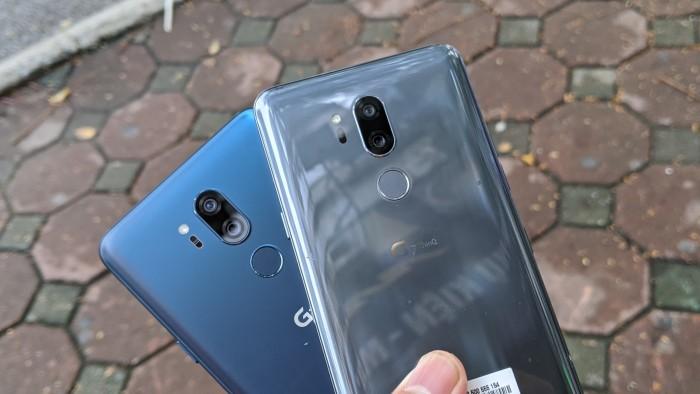 Điện thoại LG G7 ThinQ Mới 99%    Nguyên Zin 100% - Tặng kèm đủ phụ kiện3