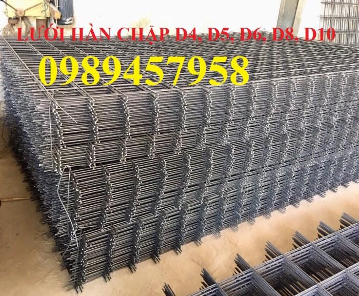 Nơi sản xuất Lưới thép phi 8 a 200x200 và Thép phi 10 a 200x200, D10 a 200x20011