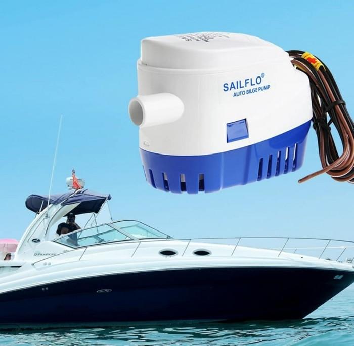 Máy bơm chìm tự động 12v SAILFLO 1100GPH2