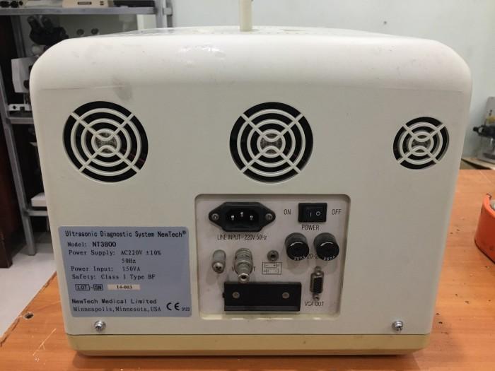 Thanh lý máy siêu âm xách tay trắng đen Newtech0
