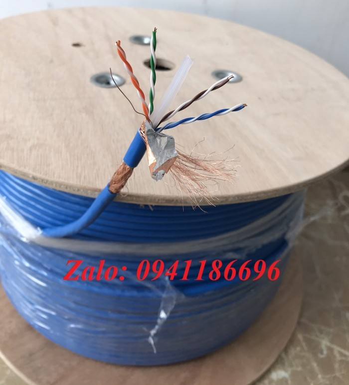 Cáp mạng COMMSCOPE Cat6A FTP PN 1859218-2 (884024508/10)7