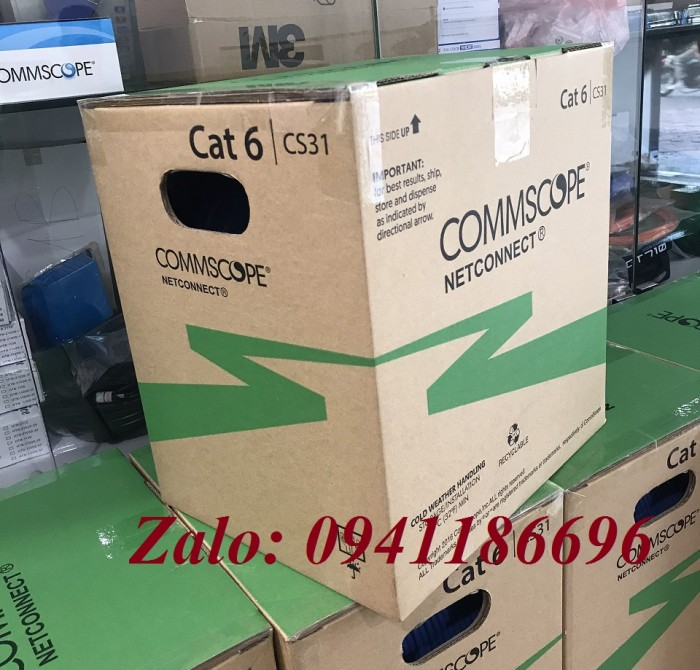Cáp mạng COMMSCOPE Cat6A FTP PN 1859218-2 (884024508/10)9