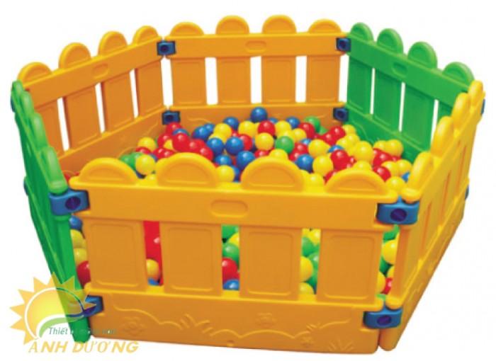 Chuyên nhà banh nhựa trong nhà dành cho trẻ em mầm non giá TỐT1