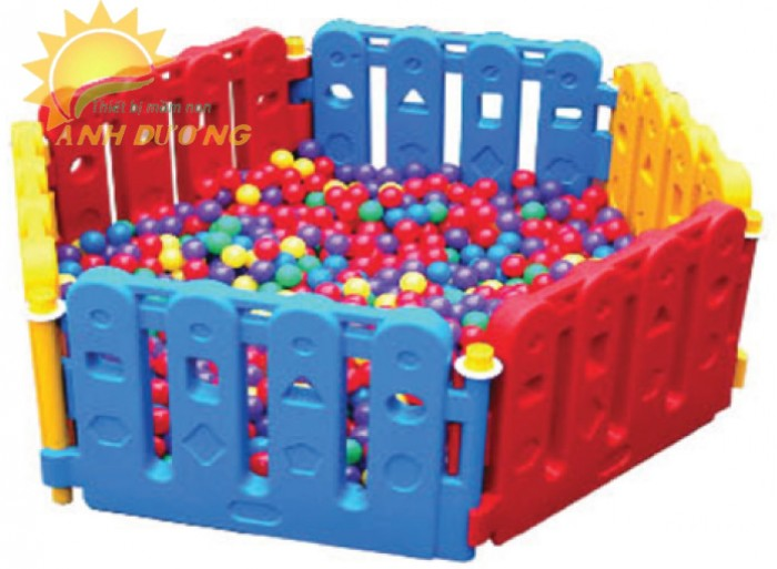 Chuyên nhà banh nhựa trong nhà dành cho trẻ em mầm non giá TỐT2
