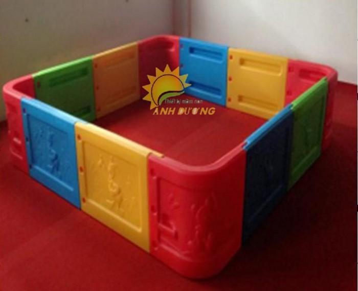 Chuyên nhà banh nhựa trong nhà dành cho trẻ em mầm non giá TỐT7