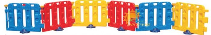 Chuyên nhà banh nhựa trong nhà dành cho trẻ em mầm non giá TỐT5