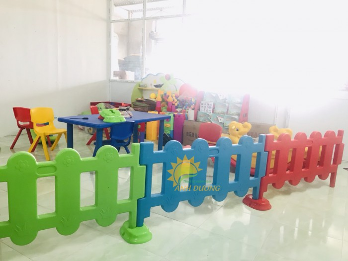 Chuyên nhà banh nhựa trong nhà dành cho trẻ em mầm non giá TỐT13