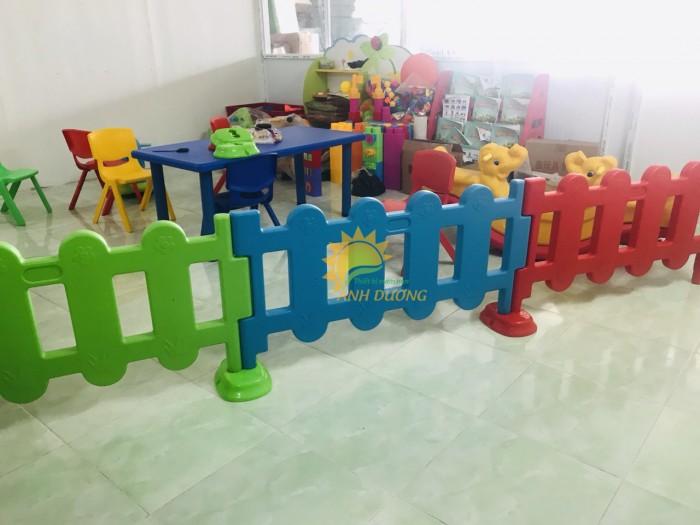 Chuyên nhà banh nhựa trong nhà dành cho trẻ em mầm non giá TỐT12