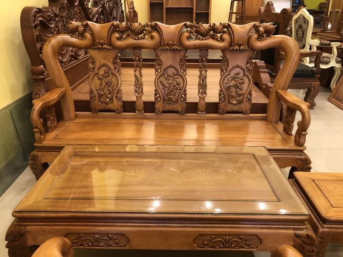 Bộ bàn ghế phòng khách tay 10 bán siêu chạy tại quận 70