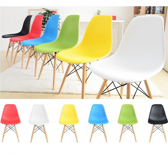 Ghế nhựa chân gổ có đủ màu làm tại xưởng sản xuất anh khoa0