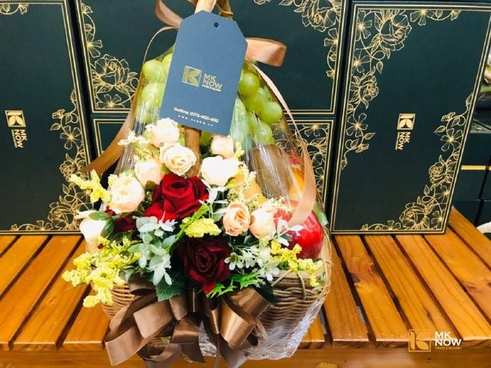 Giỏ trái cây quà tặng doanh nghiệp - FSNK173 - Ảnh: 21