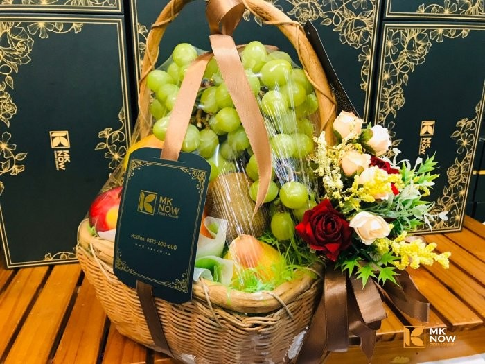 Giỏ trái cây quà tặng doanh nghiệp - FSNK173 - Ảnh: 10